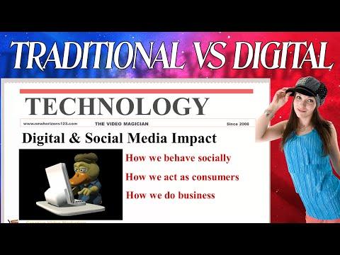 Video Marketing Traditional VS Digital Age Marketing