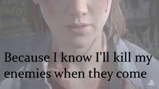 The Last Of Us 2 Ellie Sings 'Through the Valley' (Lyrics in Video)
