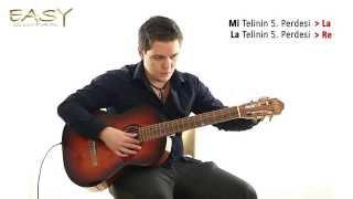 7. Kulakla Akort Etme - Easy Guitar Dersleri