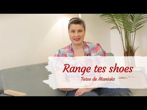 Vous avez 50 paires de chaussures ? Découvrez les solutions pour les ranger !