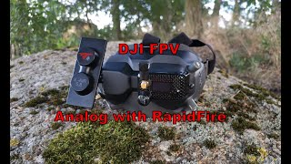 DJI digital FPV DVR form analog RapidFire - team #bckflp - sponserd by