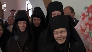 Патриарх Кирилл освятил храм в честь прпмч. Елисаветы в Елисаветинском монастыре в Алапаевске