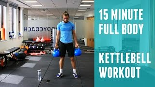 Full Body Kettlebell Workout | The Body Coach by The Body Coach TV