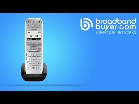 Gigaset E500 Cordless DECT Phone Introduction