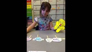Puppet retelling of The Gingerbread Man by Kindergarden 2014