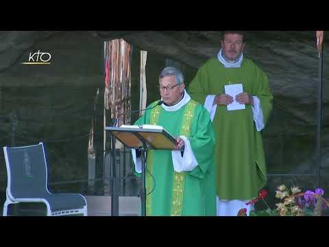 Messe à Lourdes du 25 juin 2020