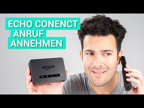 Anruf mit dem Amazon Echo Connect entgegennehmen