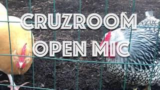 TONIGHT: Cruzroom Open Mic's 1st Anniversary Show!