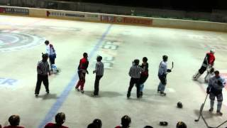 preview picture of video '25.08.2012 VEU Feldkirch - EHC Seewen, Marco Ferrari vs. Daniel Sigg'