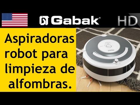 aspiradoras robot para limpieza de alfombras y otras supercicies