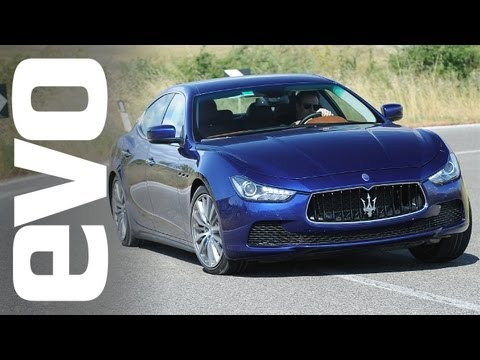 2013 Maserati Ghibli V6 petrol and diesel review | evo DIARIES