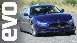 2013 Maserati Ghibli V6 petrol and diesel review   evo DIARIES