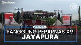 Panggung Semarak Peparnas XVI Siap Guncangkan Kota Jayapura