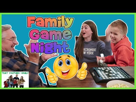 FAMILY GAME NIGHT! Who Can Win Grandpa! / That YouTub3 Family