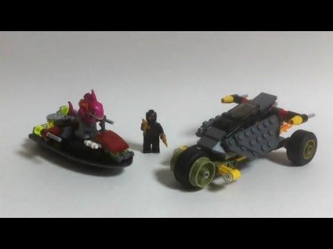 Vidéo LEGO Tortues Ninja 79102 : La poursuite en Carapace Furtive