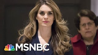 Hope Hicks To Resign As White House Communications Director | MSNBC thumbnail