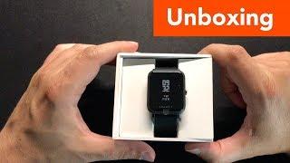 Xiaomi Huami Amazfit BIP Smartwatch Unboxing und Installation mit der MiFit App