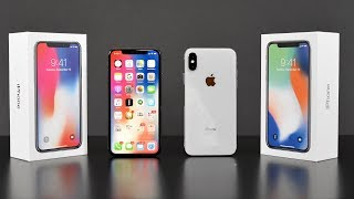 Apple iPhone X: Unboxing & Review (All Colors!)