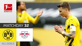 BVB keeps on dreaming of the CL! | BVB - Leipzig | 3-2 | All Goals | Matchday 32 – Bundesliga 20/21