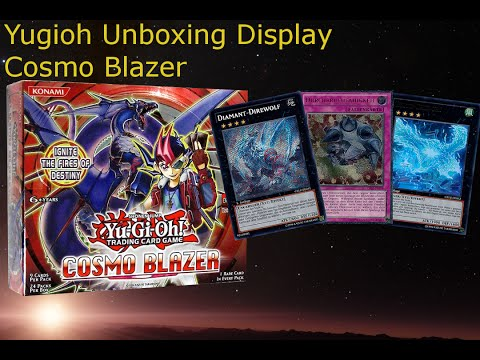 Yugioh Unboxing Display Cosmo Blazer German/Deutsc