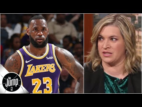 ff4f529d5345 LeBron James doesn t get to question Lakers  sense of urgency yet - Ramona  Shelburne