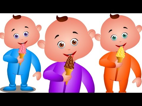 Five Little Babies Eating Icecream & Many More - Nursery Rhymes Collection - JamJammies Kids Songs