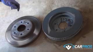 Front Brake Pads & Rotor Replacement