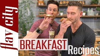 4 Super HEALTHY Breakfast Recipes & Smoothies W/ Thomas Delauer