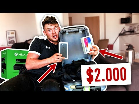 I Bought $1000 Lost Luggage & FOUND 2 IPHONES!! (Buying Lost Luggage Mystery Auction)