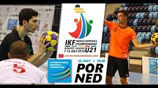 IKF U21 WKC 2018 POR-NED