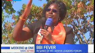 A section of Nyanza region women legislators continues to drum up support for BBI