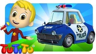 TuTiTu Songs Channel | Police Car | Sing Along For Kids