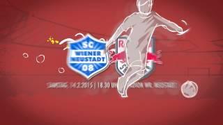 Intro 20. Runde Bundesliga: SC Wr. Neustadt Vs. FC Red Bull Salzburg