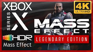 [4K/HDR] Mass Effect Legendary Edition (Mass Effect) / Xbox Series X Gameplay
