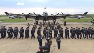 RAF Sunset Ceremony