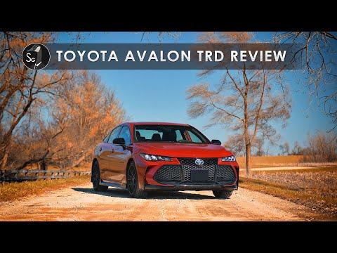External Review Video jlNyNo_6be8 for Toyota Avalon Sedan (5th gen XX50)