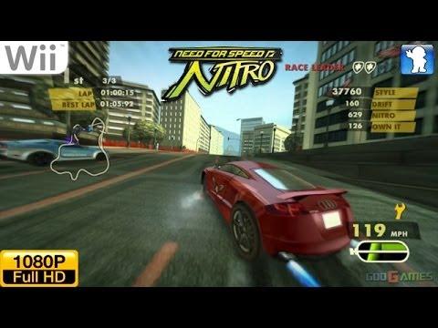 need for speed nitro wii youtube