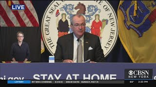 Gov. Phil Murphy Discusses Coronavirus, Reopening And George Floyd Protests