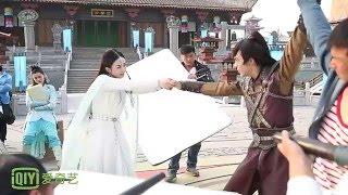 [BTS] Zhao Li Ying & William Chan - Yu'er and Ding Yin's Last Goodbye