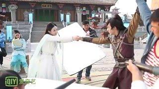 [BTS] Zhao Li Ying & William Chan - Yu'er and Ding Yin's Last Goodbye