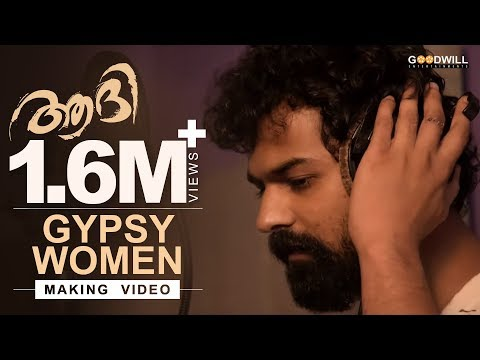 Gypsy Women song making - Aadhi - Pranav Mohanlal