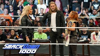 "Charlotte Flair attacks Becky Lynch on ""The Cutting Edge"": SmackDown 1000, Oct. 16, 2018"