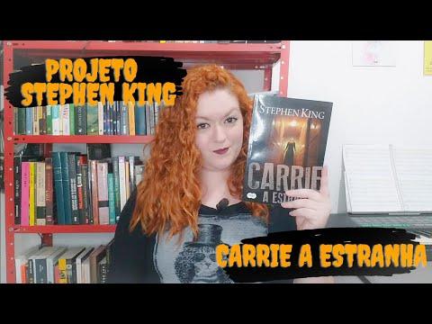 Projeto Stephen King - Carrie A Estranha (1974) | Livros e Devaneios