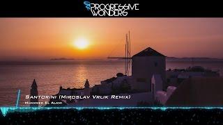 Mhammed El Alami - Santorini (Miroslav Vrlik Remix) [Music Video] [Emergent Shores]