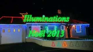 preview picture of video 'Illuminations Noël 2013   720P'