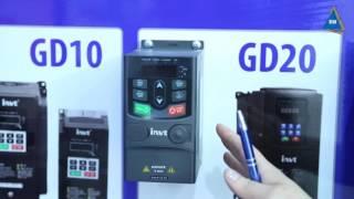 Перетворювач частоти INVT GD200-160G/200P-4 от компании ПКФ «Электромотор» - видео