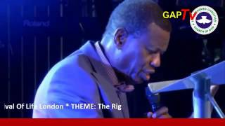 The Right Hand Of Power – RCCG Festival of Life Dubai 2016