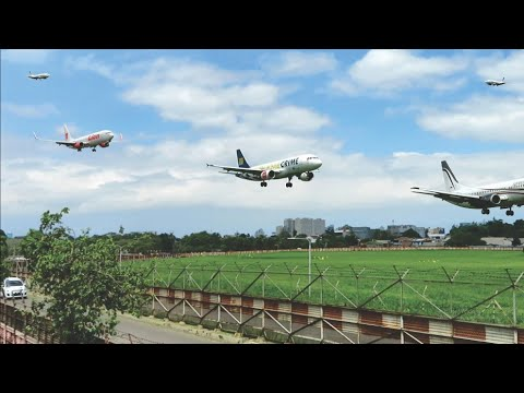 Pesawat Landing dan Take Off di Bandara Husein Sastranegara Bandung, Indonesia Plane Spotters
