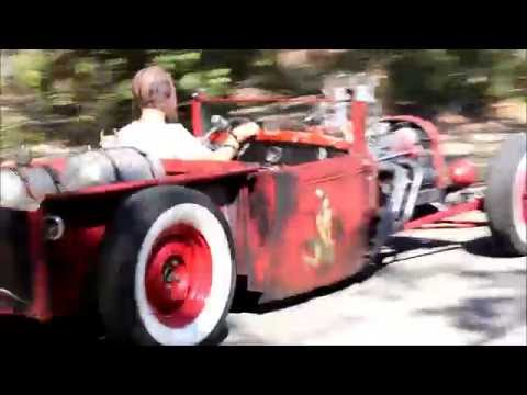 Red Rat Rod Roadster: Drive and Walk Around Willie Moore StreetRodding.com