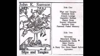 John K Samson Slips And Tangles Demo Cassette FULL ALBUM 1993